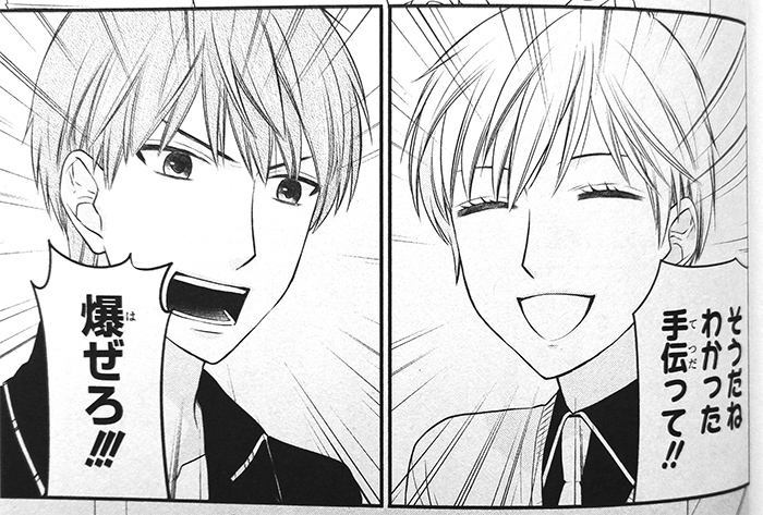 Hajime and Mutsuki from Fruits Basket another volume 1 by Takaya Natsuki (HC online, Hakusensha, 2016)