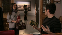 Dan Humphrey and his reading material